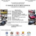 6° Raduno Auto e Moto d'epoca, Casalduni 10 luglio 2011