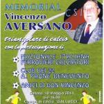 10 Maggio 2014 –  Memorial di Calcio Vincenzo Aversano.