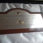 """03 Marzo 2018 – Premio ASI """"La Manovella d'Oro"""" all' ASAS"""