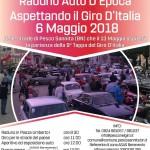 """06 Maggio 2018 – Raduno """"Aspettando il Giro d'Italia"""" a Pesco Sannita."""