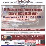 24 Giugno 2018 – IX Raduno auto e moto d'epoca Città di Gesualdo .
