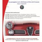 14 Luglio 2018 – Passeggiata con Alfa Romeo al parco del Grassano.