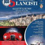 """Giovedì 25 aprile 2019 """"Raduno Lancia – 5° INCONTRO CON I LANCISTI"""""""