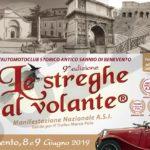 """8 e 9 Giugno 2019 – 9° edizione """"Le Streghe al Volante"""" città di Benevento."""